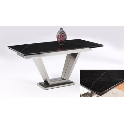 Jessy Extendable Marble Dining Table