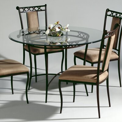 In store financing Wrought Iron Dining Table...