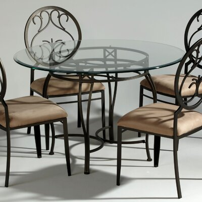 Credit for Wrought Iron Dining Table...