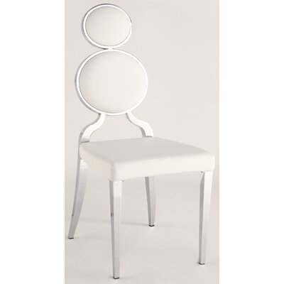 Oprah Side Chair (Set of 2) Upholstery: White