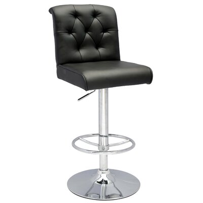 Pneumatic Gas Adjustable Height Swivel Bar Stool