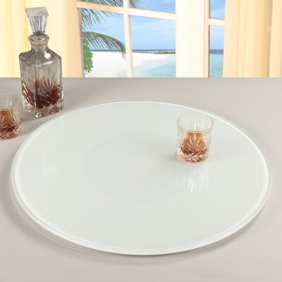 Chintaly Rotating Tray Lazy Susan - Color: White at Sears.com