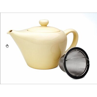 Chantal Ceramic Clean / Pure Tokyo Teapot with Infuser