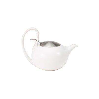 Chantal Ceramic White Cup Ceramic Teapot / Stainless Lid Jasmine