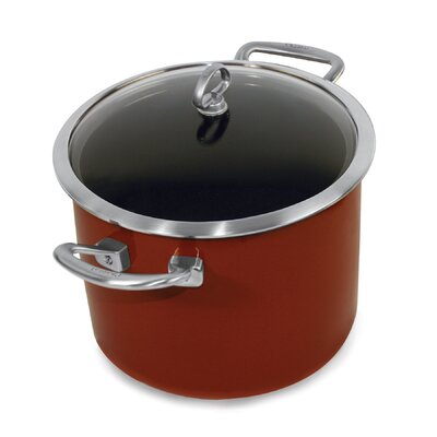 Chantal Copper Fusion 8-Qt. Stock Pot with Lid - Color: Red at Sears.com