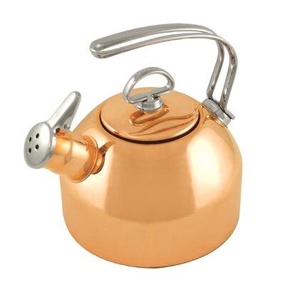 Fusion 1.8-qt. Copper Whistling Stovetop Kettle SL37-19CP