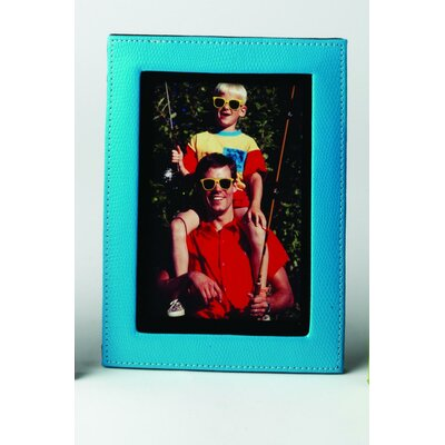 Lizard Print Picture Frame Color: Blue 542046L-11