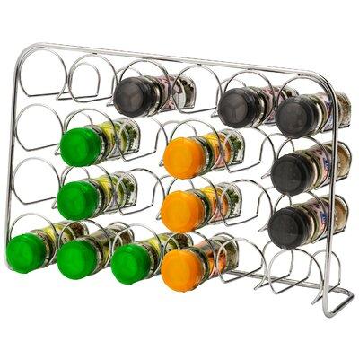 Gewürzregal für 24 Gläser | Küche und Esszimmer > Küchenregale > Gewürzregale | ClearAmbient