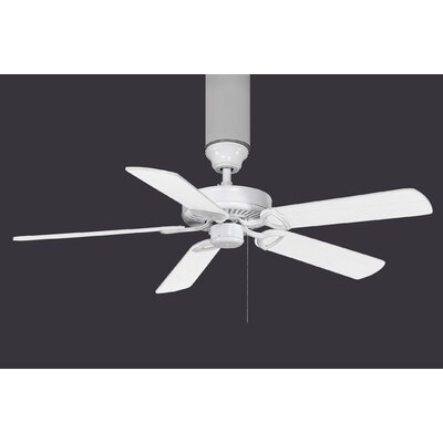 52 Ragnar Metal 5-Blade Ceiling Fan Size: 42