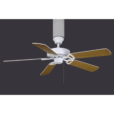 52 Ragnar 5 Blade Ceiling Fan with 13W Light Kit Size: 42