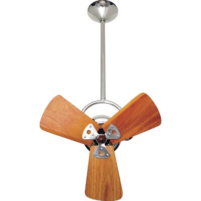 13 Bianca 3 Metal Blade Directional Outdoor Ceiling Fan