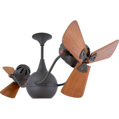 42 Vent-Bettina 3 Blade Ceiling Fan Finish: Bronze