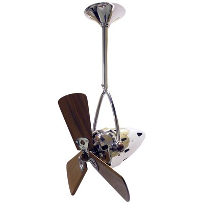 16 Jarold 3 Blade Ceiling Fan Finish: Chrome