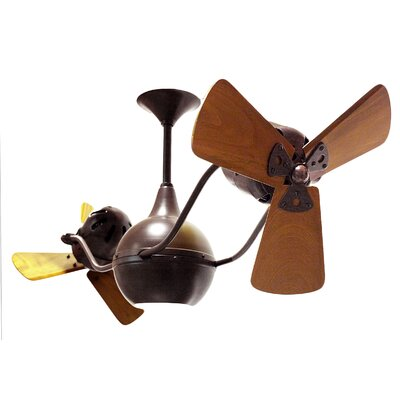 42 Vent-Bettina 3 Blade Ceiling Fan Finish: Bronzette