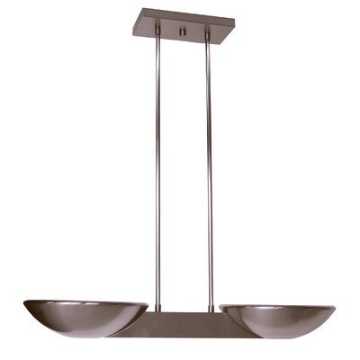 Pascal 2-Light Kitchen Island Pendant