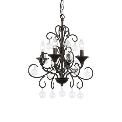 Liza 4-Light Candle-Style Chandelier