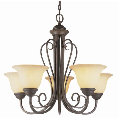 "TransGlobe Lighting New Century 21.25""  Chandelier in Antique Bronze at Sears.com"