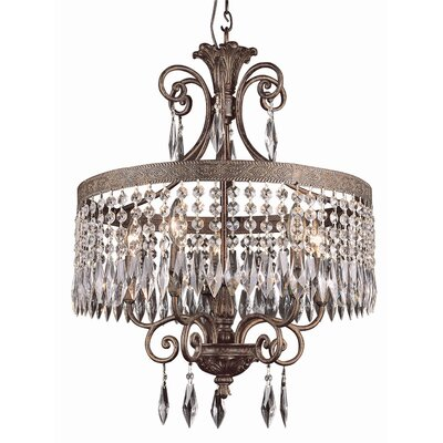 5 Light Candle-Style Chandelier
