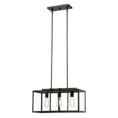 Chapawee 4-Light Kitchen Island Pendant Finish: Rubbed Oil Bronze