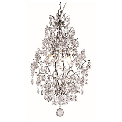 Silver Drop 3-Light Pendant