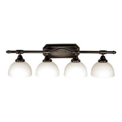 4-Light Full Track Lighting Kit Finish: Rubbed Oil Bronze