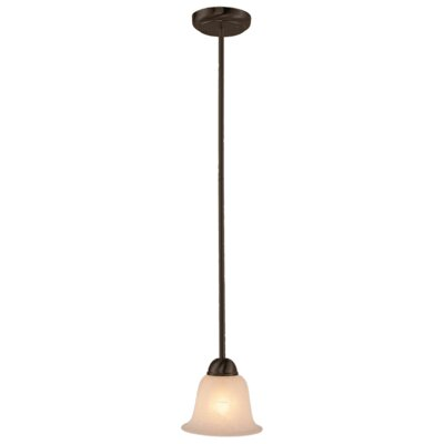 Contemporary 1-Light Mini Pendant Finish: Rubbed Oil Bronze