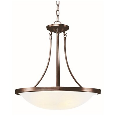 3-Light Large Inverted Pendant Finish: Rubbed Oil Bronze