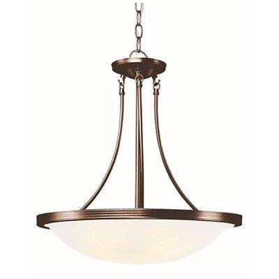3-Light Large Inverted Pendant Finish: Rubbed Oil Bronze