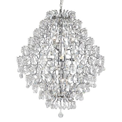 9-Light Semi Flush Mount