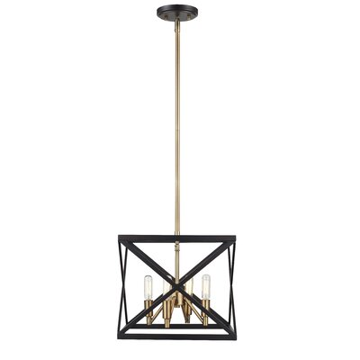 Tanksley 4-Light Foyer Pendant