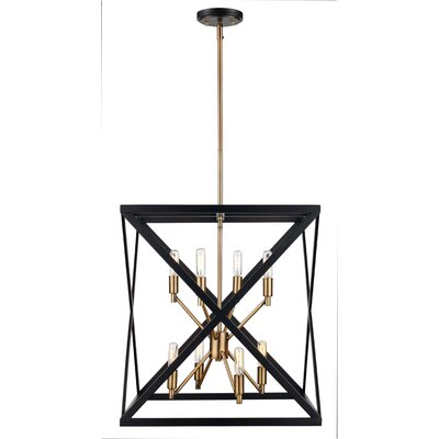 Tanksley 8-Light Foyer Pendant