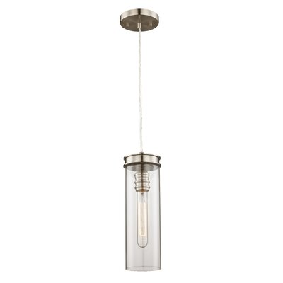 Pardee 1-Light Mini Pendant Finish: Brushed Nickel