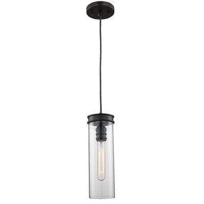 Pardee 1-Light Mini Pendant Finish: Rubbed Oil Bronze