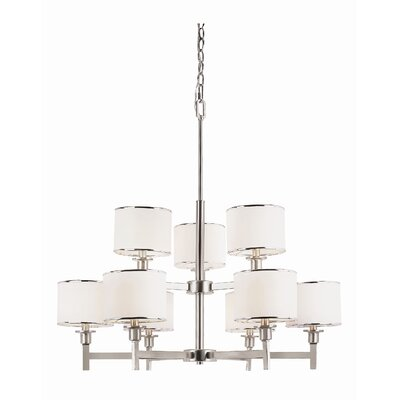Cadence 9-Light Shaded Chandelier