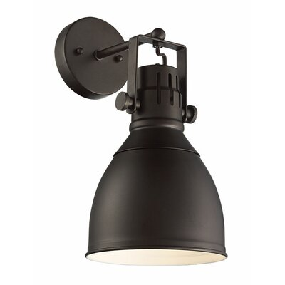 Dillie 1-Light LED Armed Sconce Finish: Rubbed Oil Bronze