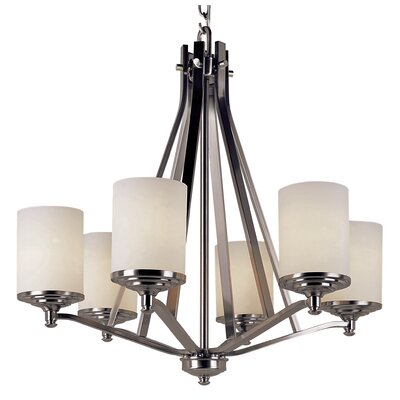 Truong 6-Light Candle-Style Chandelier