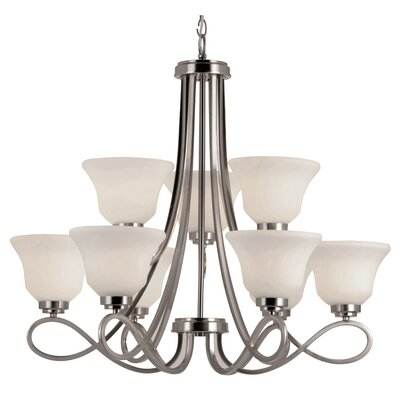 Cavallacci 9-Light Candle-Style Chandelier