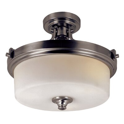 Truong 3-Light Semi Flush Mount
