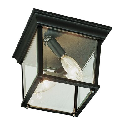 Outdoor 3-Light Flush Mount