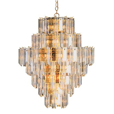 26-Light Crystal Chandelier