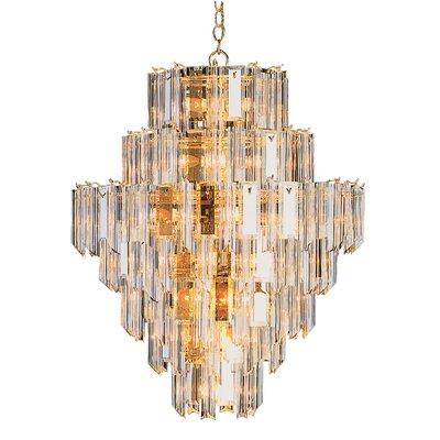 26-Light Crystal Chandelier