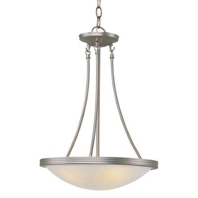 3-Light Medium Inverted Pendant Finish: Rubbed Oil Bronze