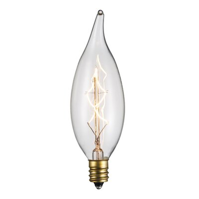 Incandescent Vintage Filament Light Bulb