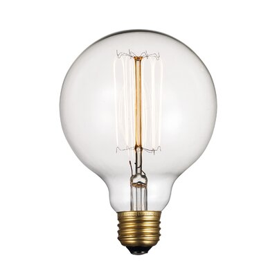 60W Incandescent Vintage Filament Light Bulb