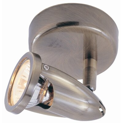 Modern Track Lights 1-Light Semi Flush Mount Finish: Rubbed Oil Bronze