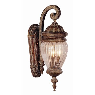 Jeremiah Bulkheads 1 Light Flush Outdoor Wall Sconce | Wayfair