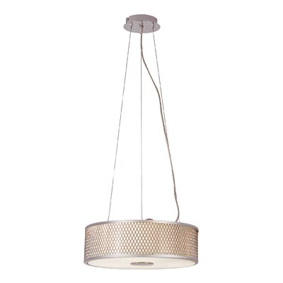 Diamond Grill 3-Light Pendant