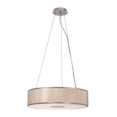 Diamond Grill 4-Light Pendant