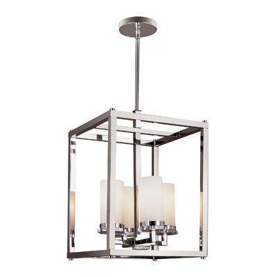 Pop Indie 4 Light Foyer Pendant 70344 PC