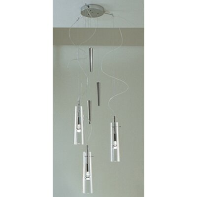 Stilo 3-Light Up And Down Pendant Color: White